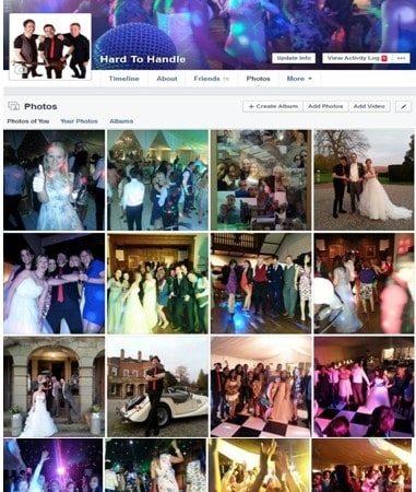 Wedding Band West Midlands H2H Band